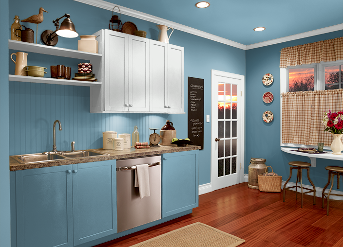 This Is The Project I Created On Behr Com I Used These Colors Blue