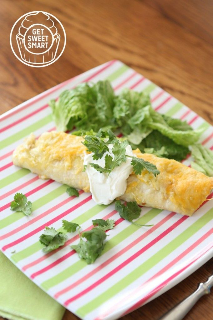 Cilantro Chicken Enchiladas. One of my most favorite meals!