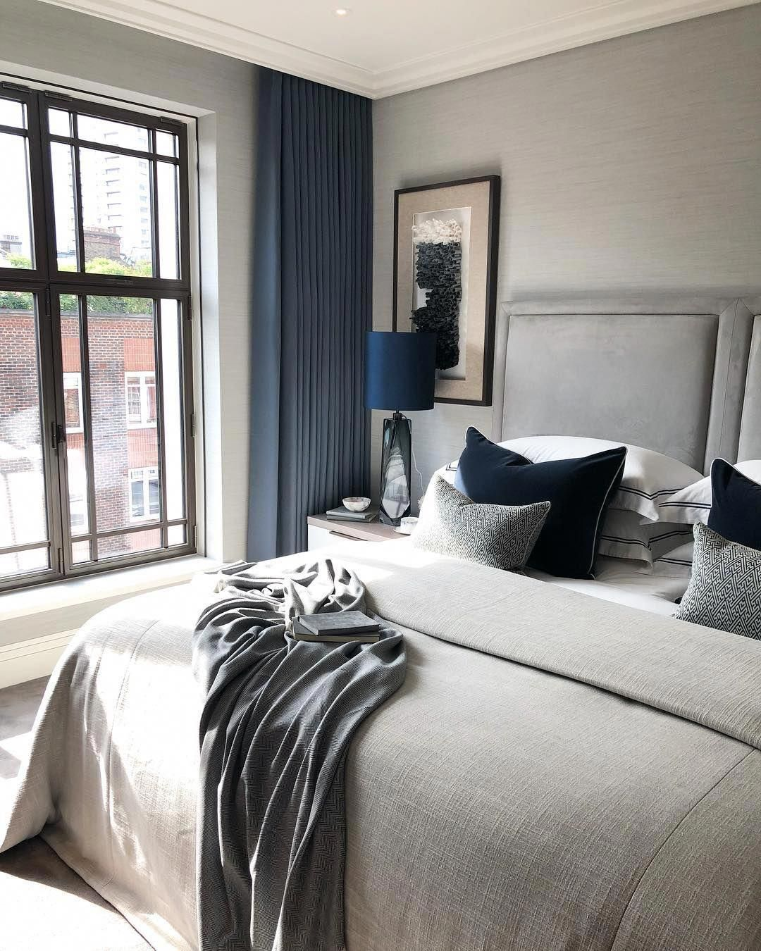 Top 30 Masculine Bedroom Part 2: A Masculine And Contemporary Bedroom In The New Build