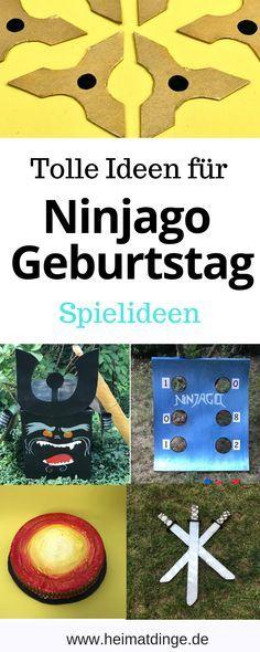 ninjago kindergeburtstag coole ideen für eine gelungene