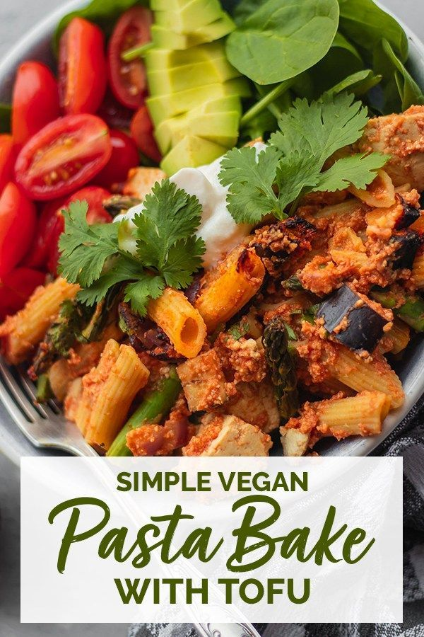 Simple Vegan Pasta Bake With Tofu Gluten Free