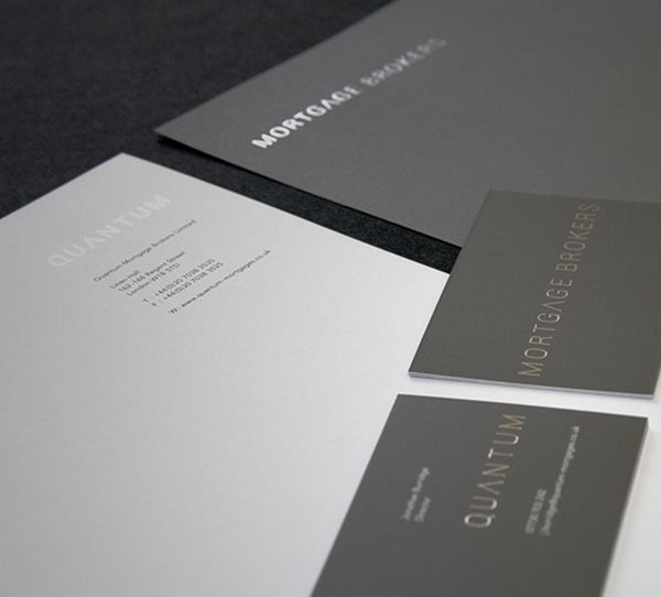 Very Professional And Nice Use Of Metallic Type  Letterhead