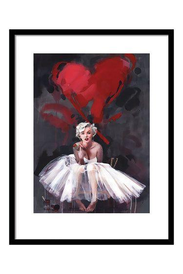 Marilyn Monroe Framed Print By James Paterson, 80 x 60cm | MOVIE ...