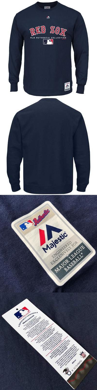 c7591a546 Baseball Shirts and Jerseys 181336  Boston Red Sox Majestic Mlb Team Drive  Long Sleeve T-Shirt - Navy -  BUY IT NOW ONLY   59.95 on  eBay  baseball   shirts ...