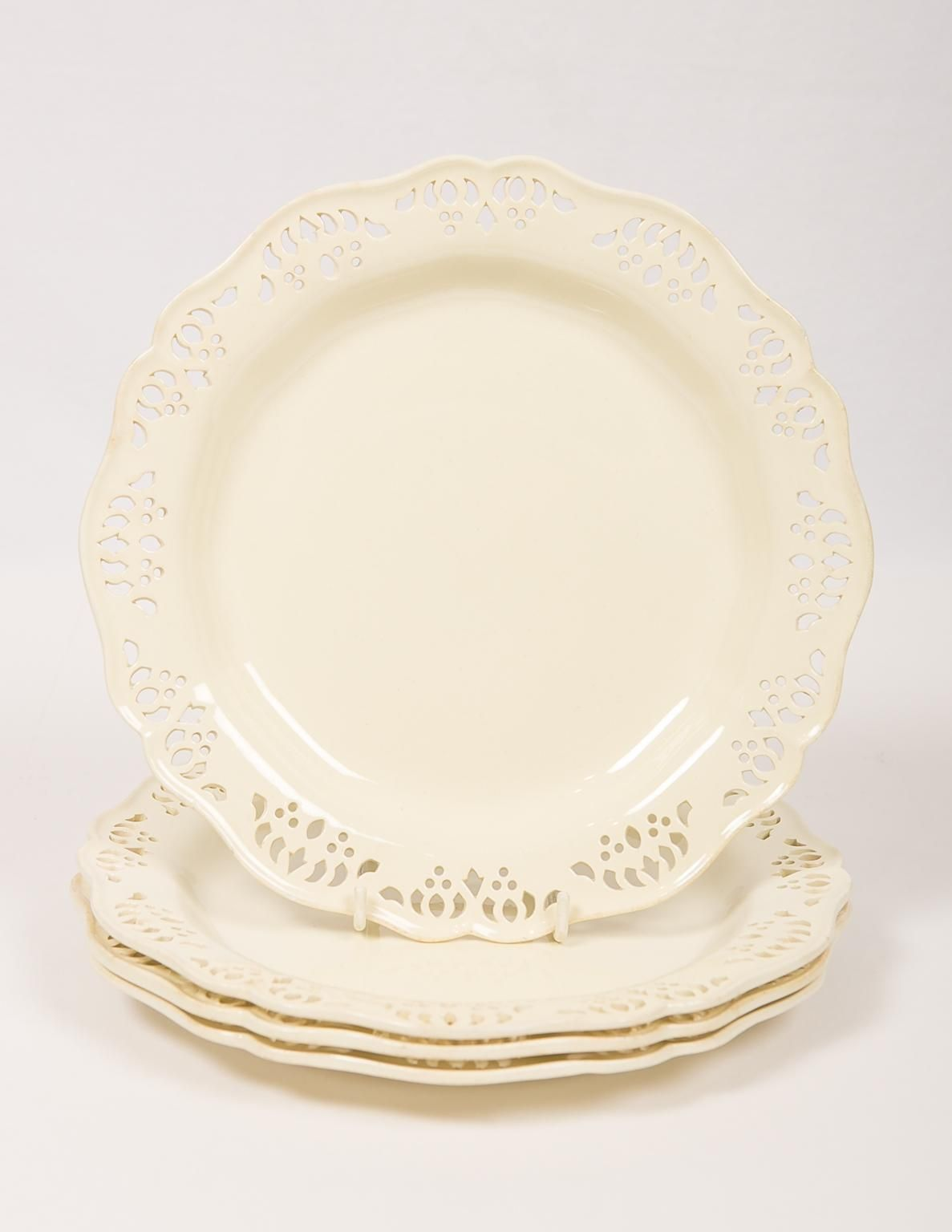 Antique Wedgwood Pierced Creamware Dishes For Sale At 1stdibs