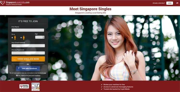 Free online hookup sites in singapore