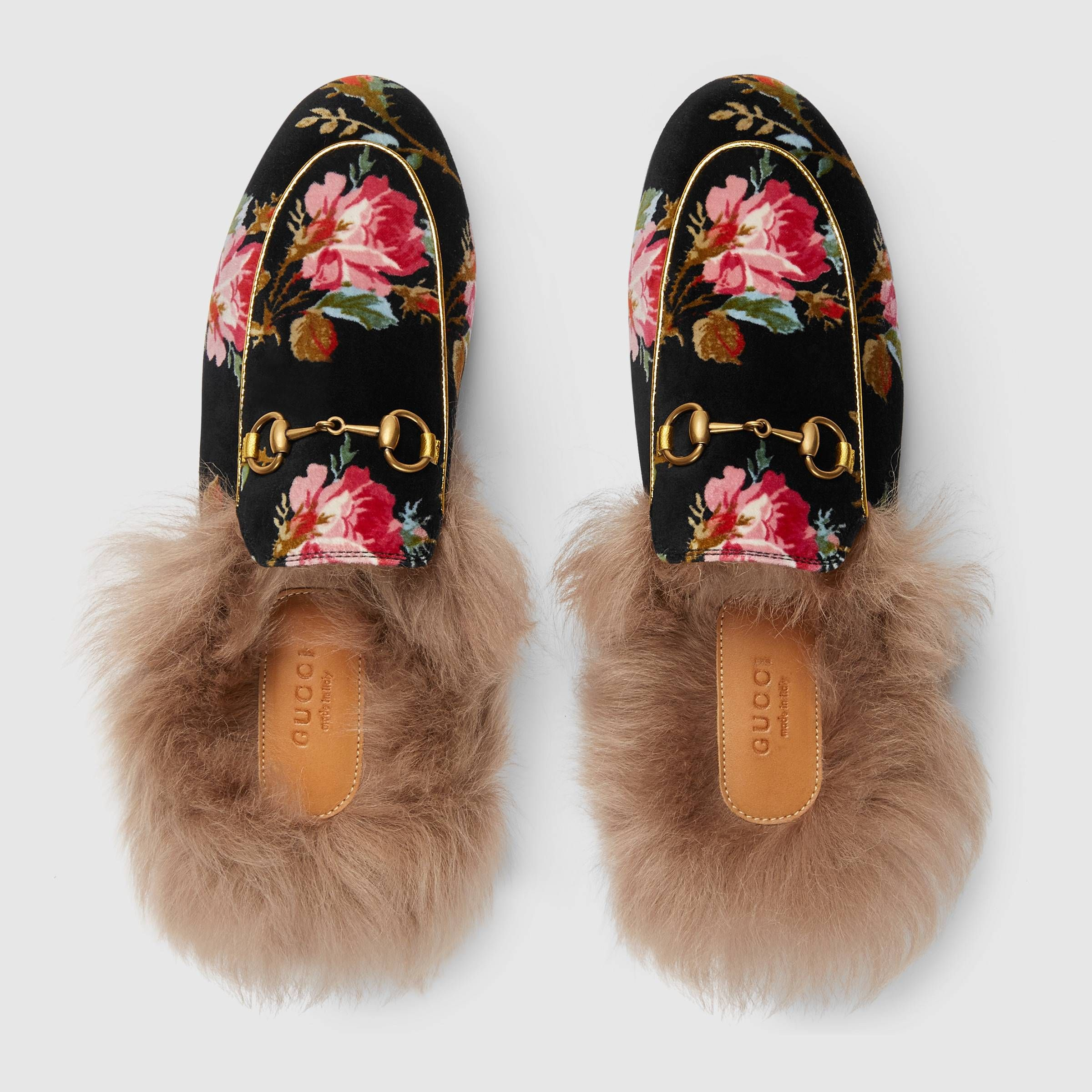 e7e8a7810f0 Princetown rose velvet slipper - Gucci Women s Moccasins   Loafers  4486579ML201105