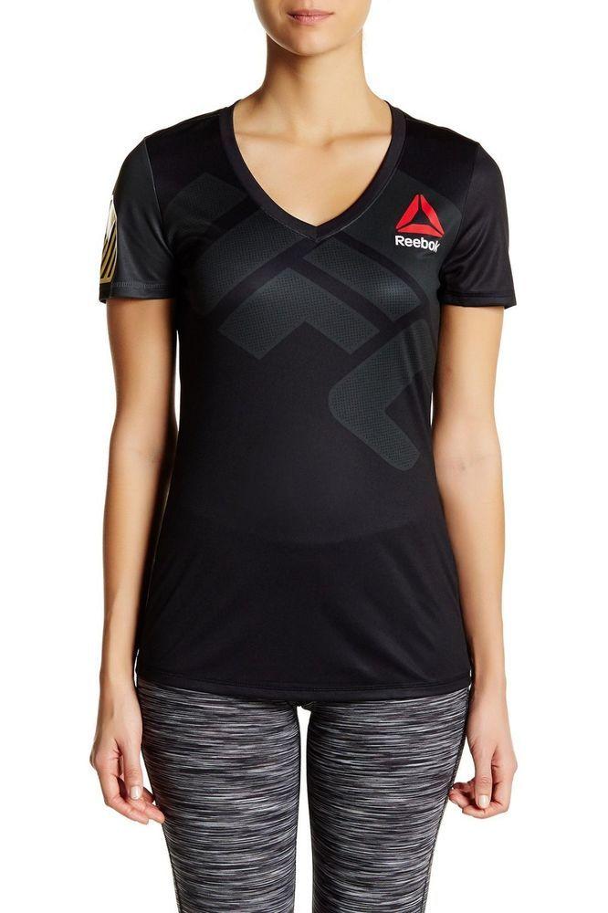 T-shirt Reebok UFC Women/'s Ronda Rousey UFC 207 M T-shirt SZ S