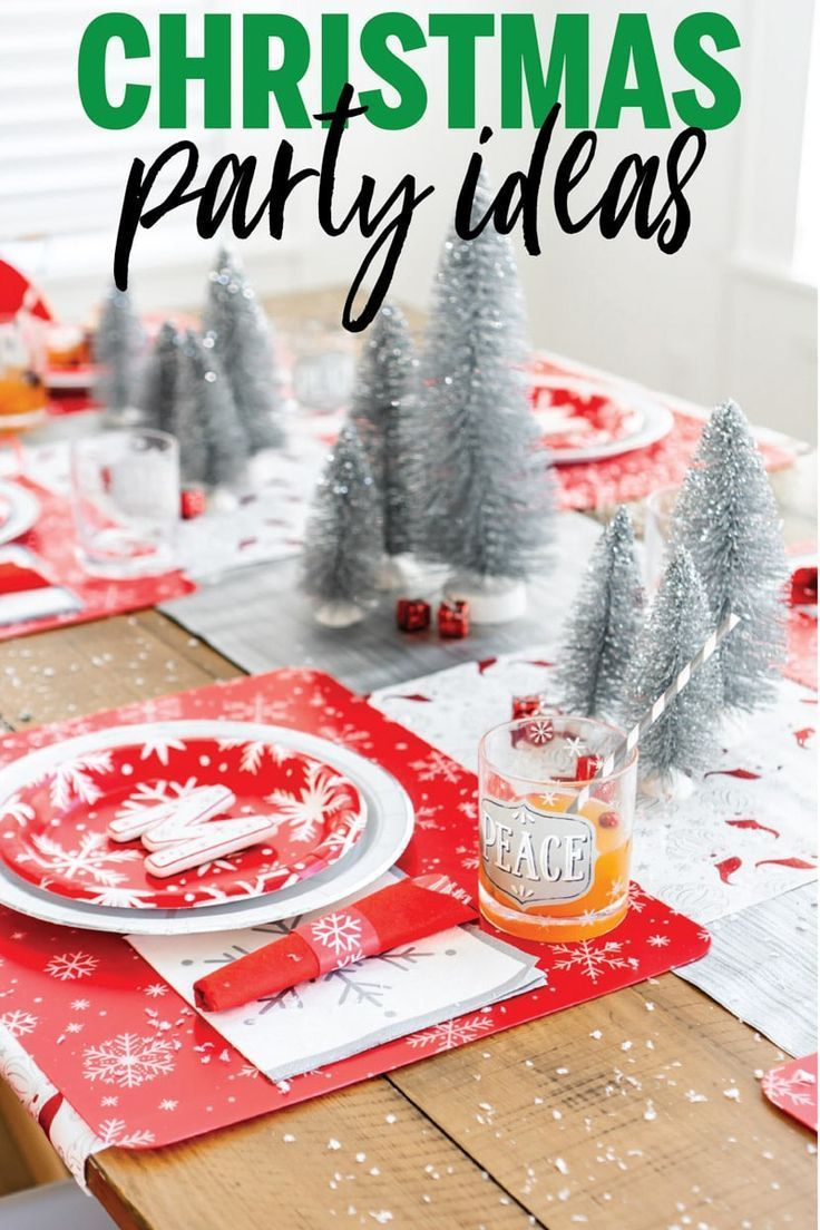 Easy Christmas party ideas for making this holiday season merry and bright! #christmasparty #christmaspartyideas Sponsored
