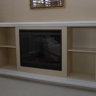 Fireplace Enclosures Electric Fireplace Enclosure Fireplace