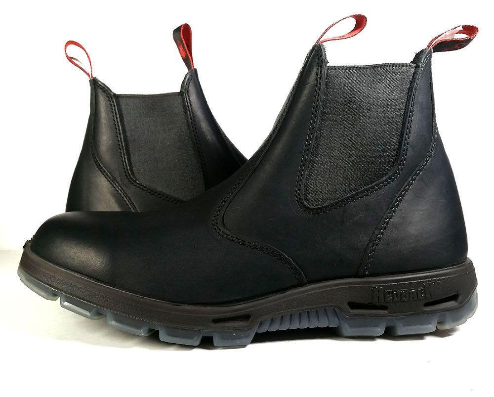 Redback Work Boots Mens Size 13 Us Ubbk Easy Escape Black Chelsea Ankle Primo Redback Ankleboots Boots Work Boots Redback Boots