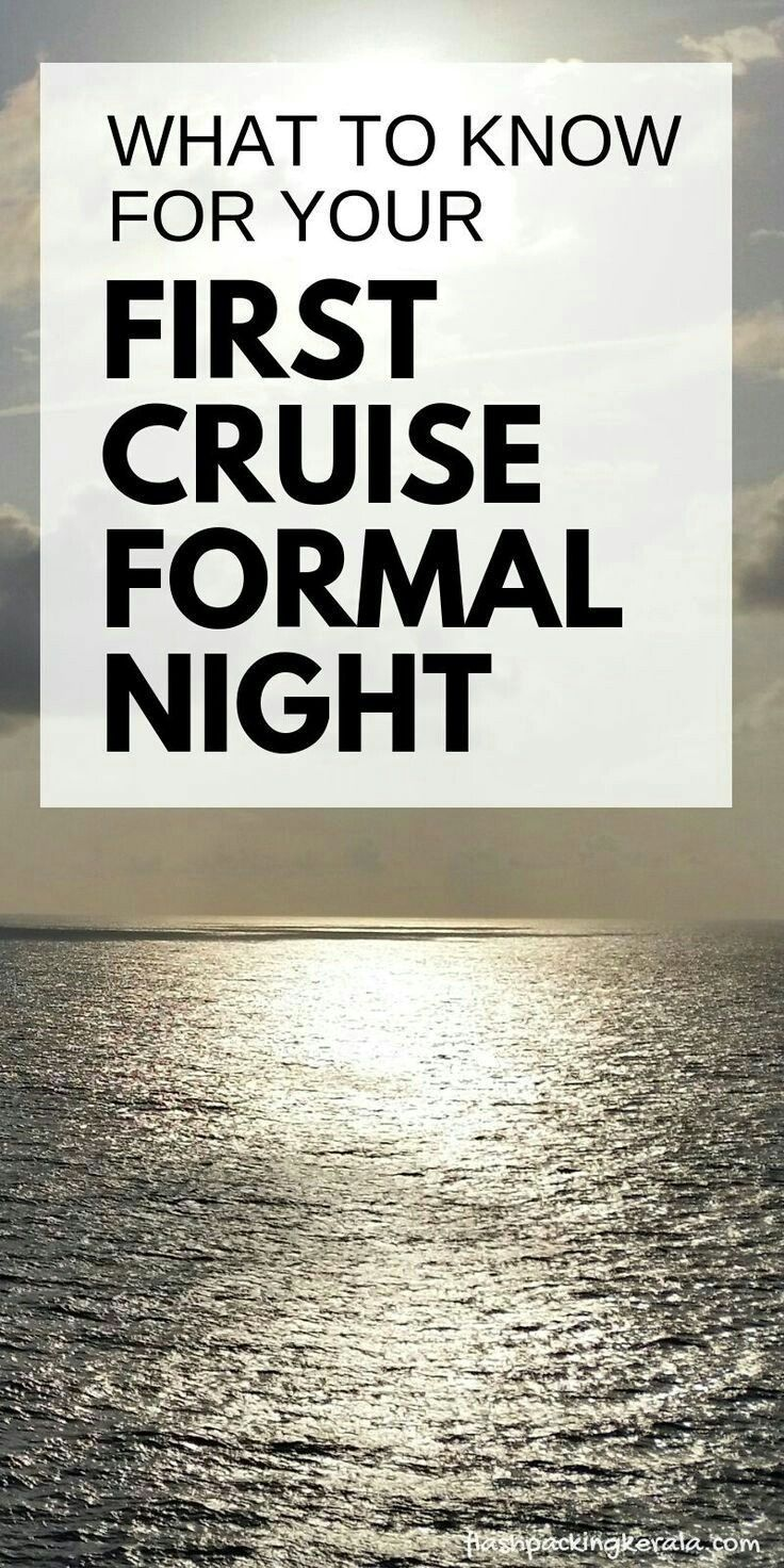 Cruise outfit ideas: What to wear on a Carnival cruise formal night :: Caribbean cruises | Flashpack