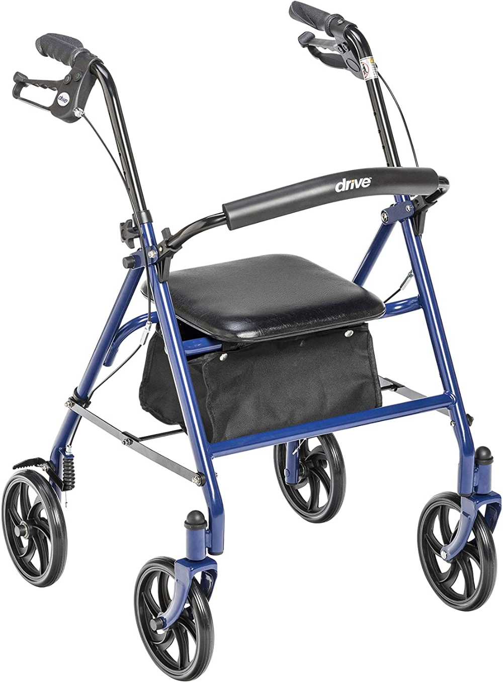 Drive Medical Four Wheel Walker Rollator with