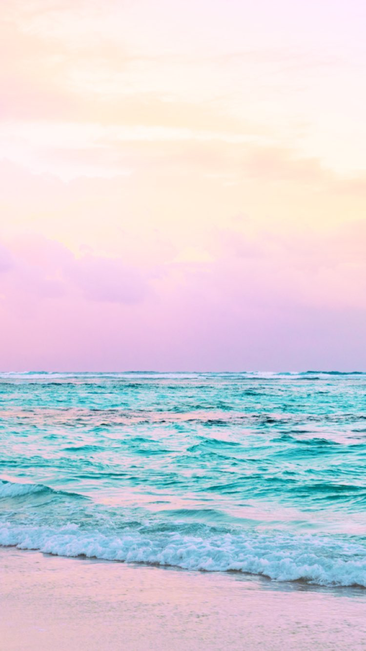 Matt Crump photography Pastel iPhone wallpaper ocean