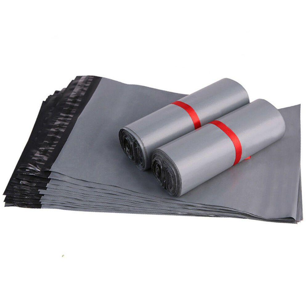 WHITE Plastic Strong Packaging Postal Polythene Mailing Bag10 Sizes Mail Bags UK
