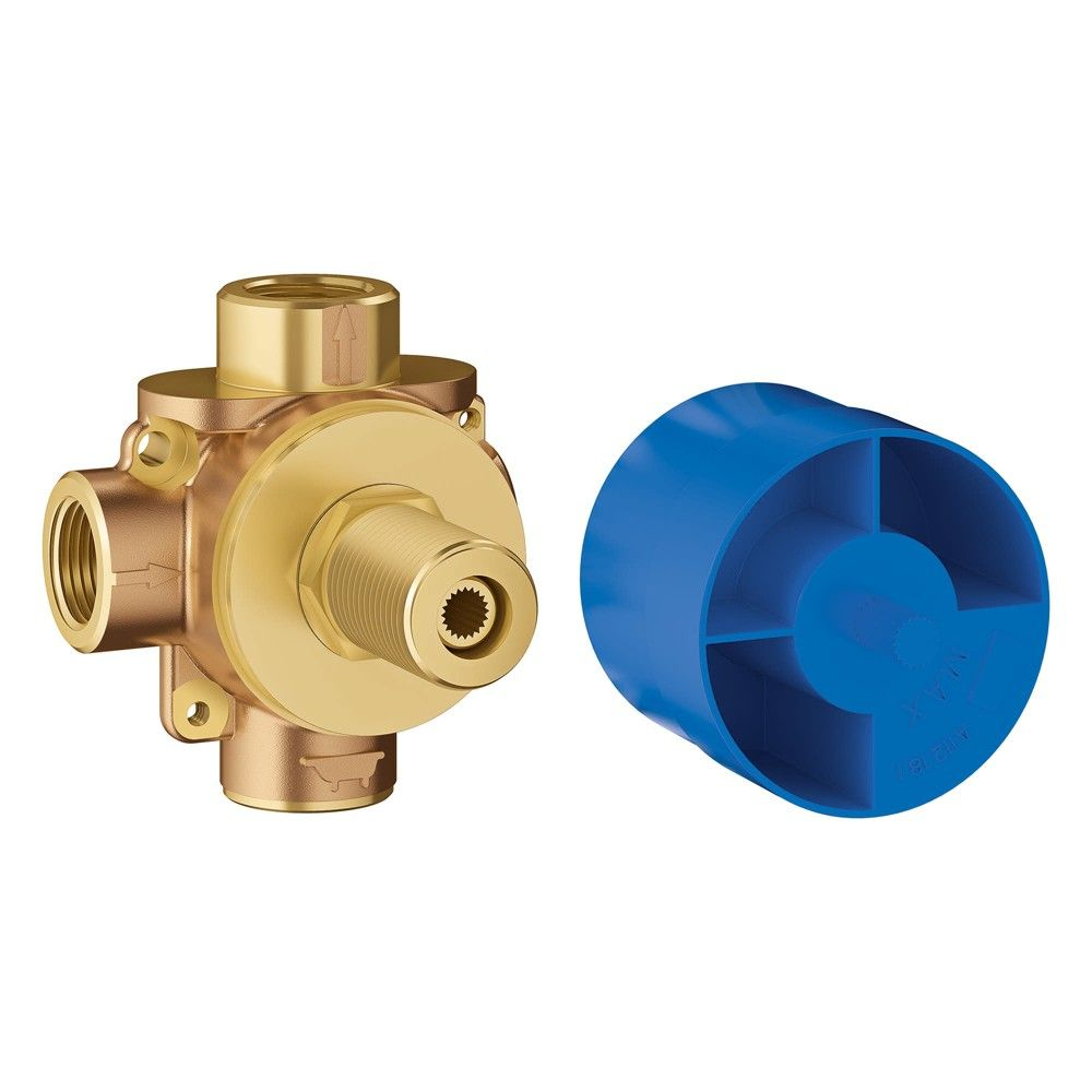 Grohe America Inc 29 900 Concetto 1 2 2 Way Diverter Rough In