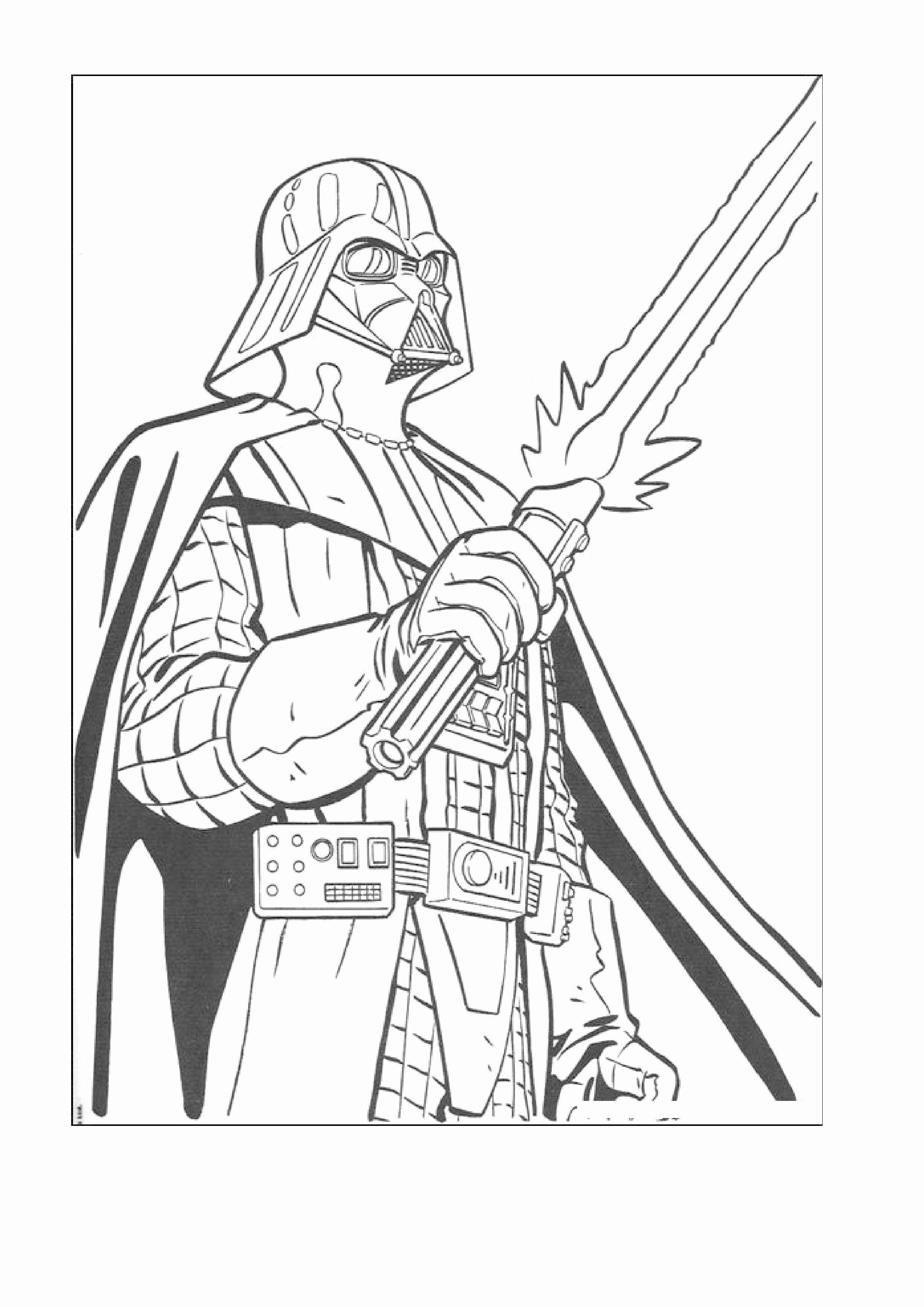 Darth Vader Coloring Page Elegant Darth Maul Free Coloring Pages Star Wars Drawings Star Wars Coloring Sheet Star Wars Coloring Book