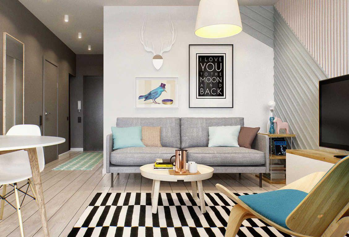 Desain Interior Ruang Keluarga Kecil Minimalist Photo Check More At