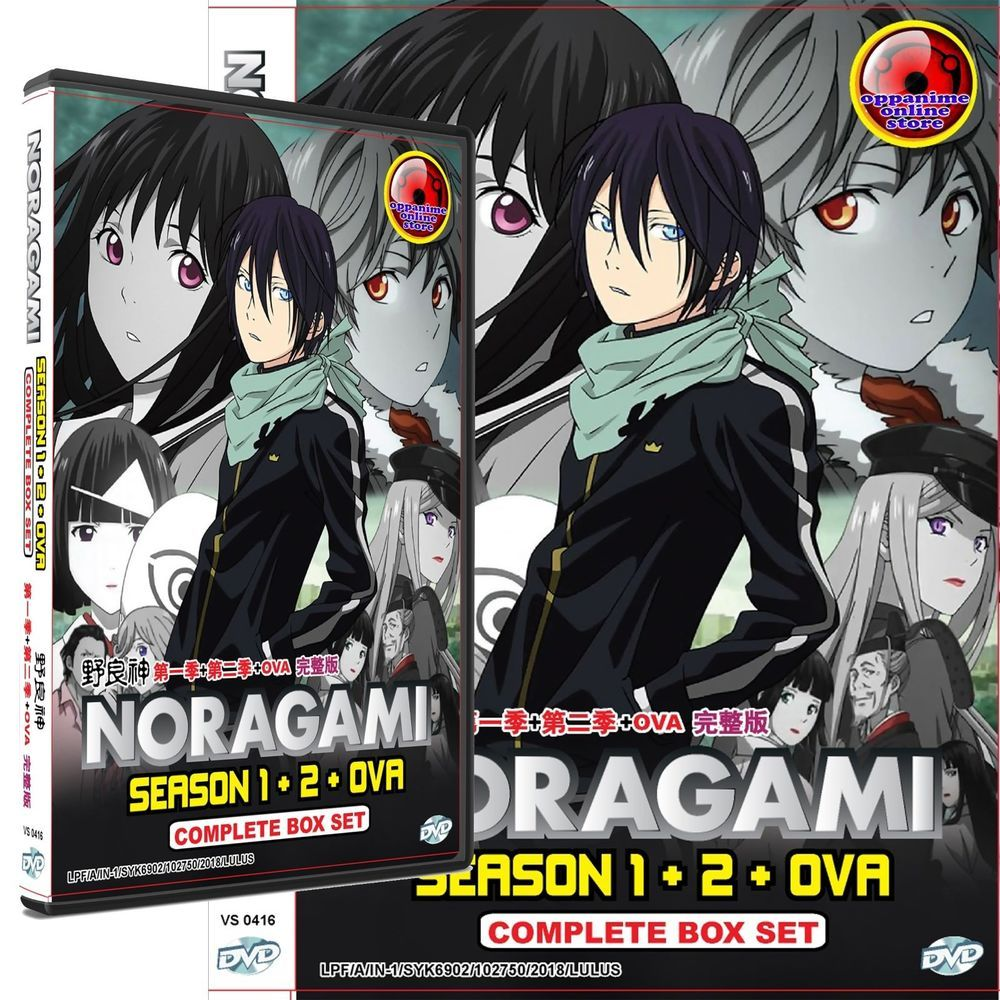 Noragami Season 1+2+OVA Complete Box Set Anime dvd