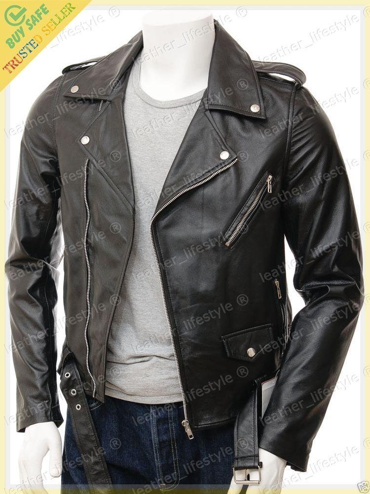 Laleta veste en cuir noir