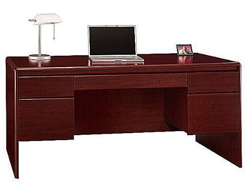 Double Pedestal Desk, Office Furniture Spartanburg Sc