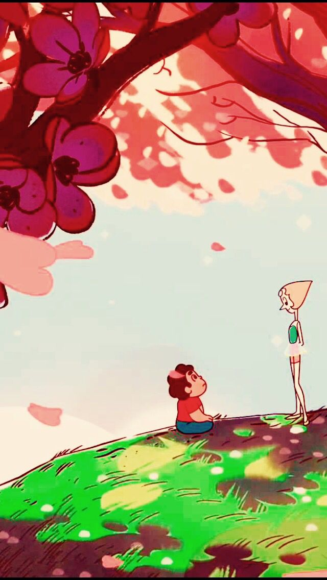 Steven Universe Iphone Android Wallpaper Pearl Steven Universe Steven Universe Wallpaper Steven Universe Fanart