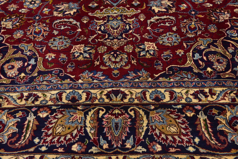 Red 9 9 X 13 3 Mashad Persian Rug Ad Red Mashad Rug Persian Sponsored Persian Rug Rugs Persian