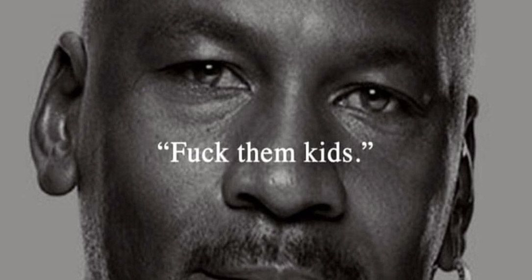 c172d38ef91300 Chance the Rapper Takes a Stab at Michael Jordan with NSFW Nike Ad Meme  Nike Ad