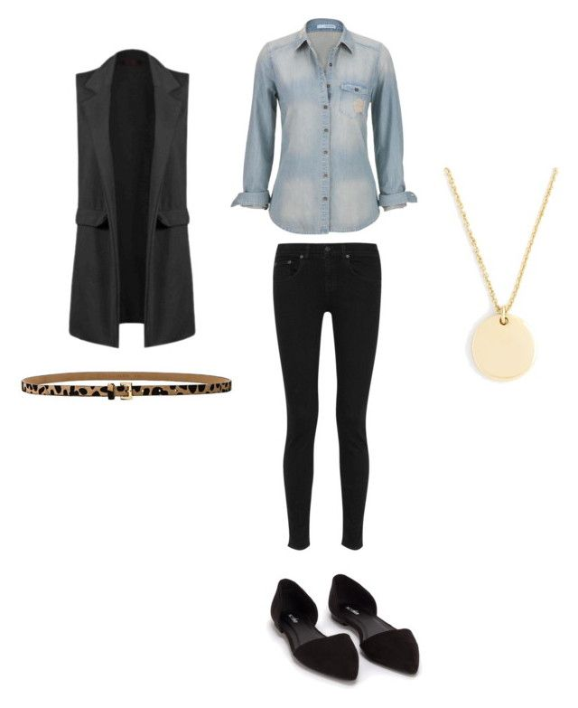 """""""Untitled #376"""" by kaittd on Polyvore featuring maurices, rag & bone, Nly Shoes, B-Low the Belt and J.Crew"""