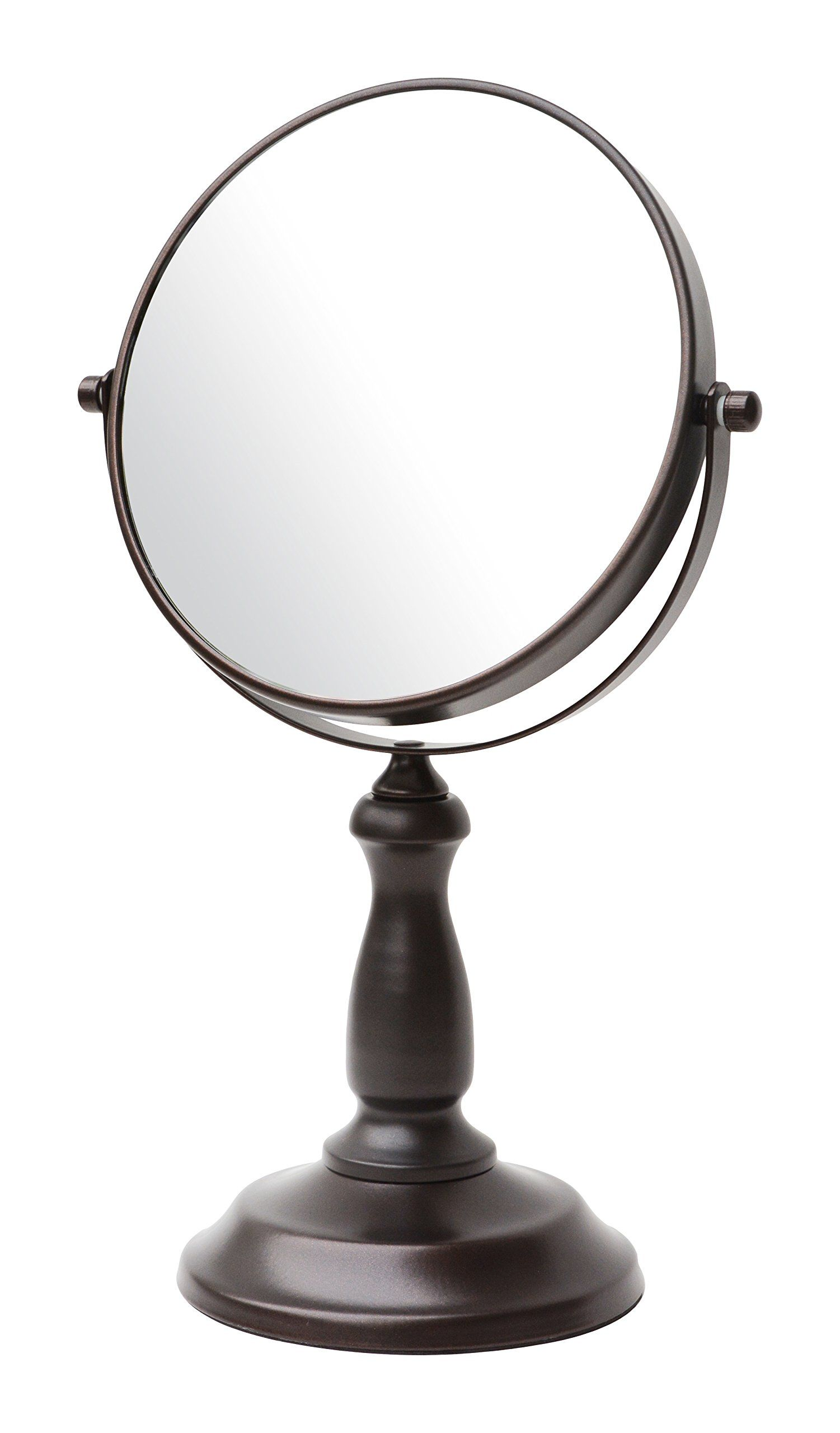 BathSense VAN1290ORB Pedestal Vanity Circular Tilting Bathroom ...