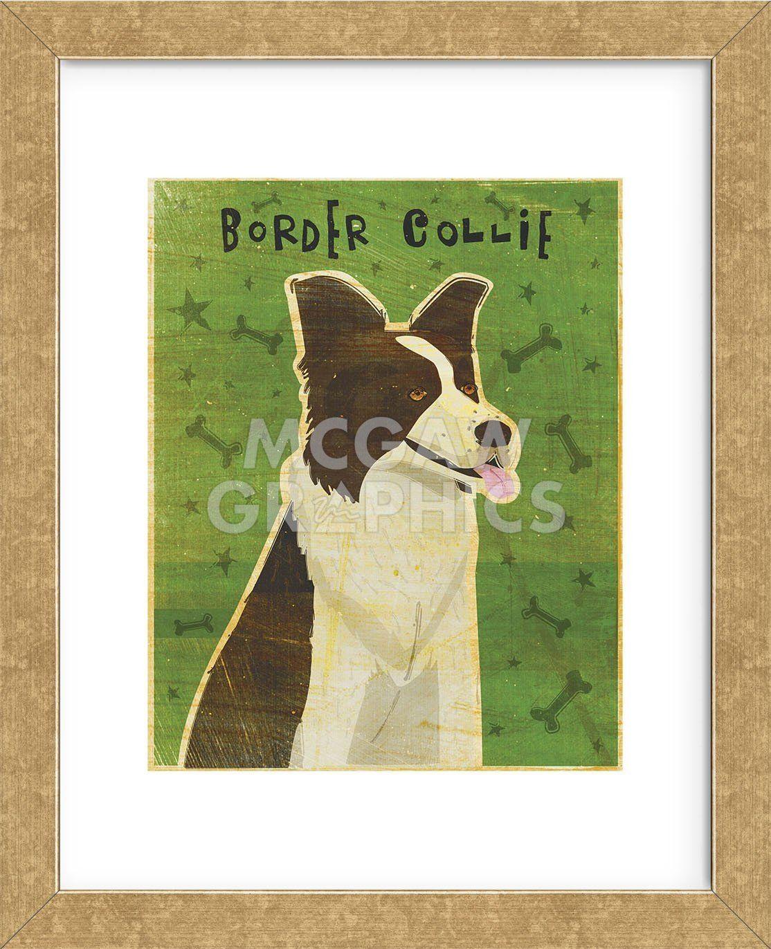 Border Collie Framed Shop All Prints