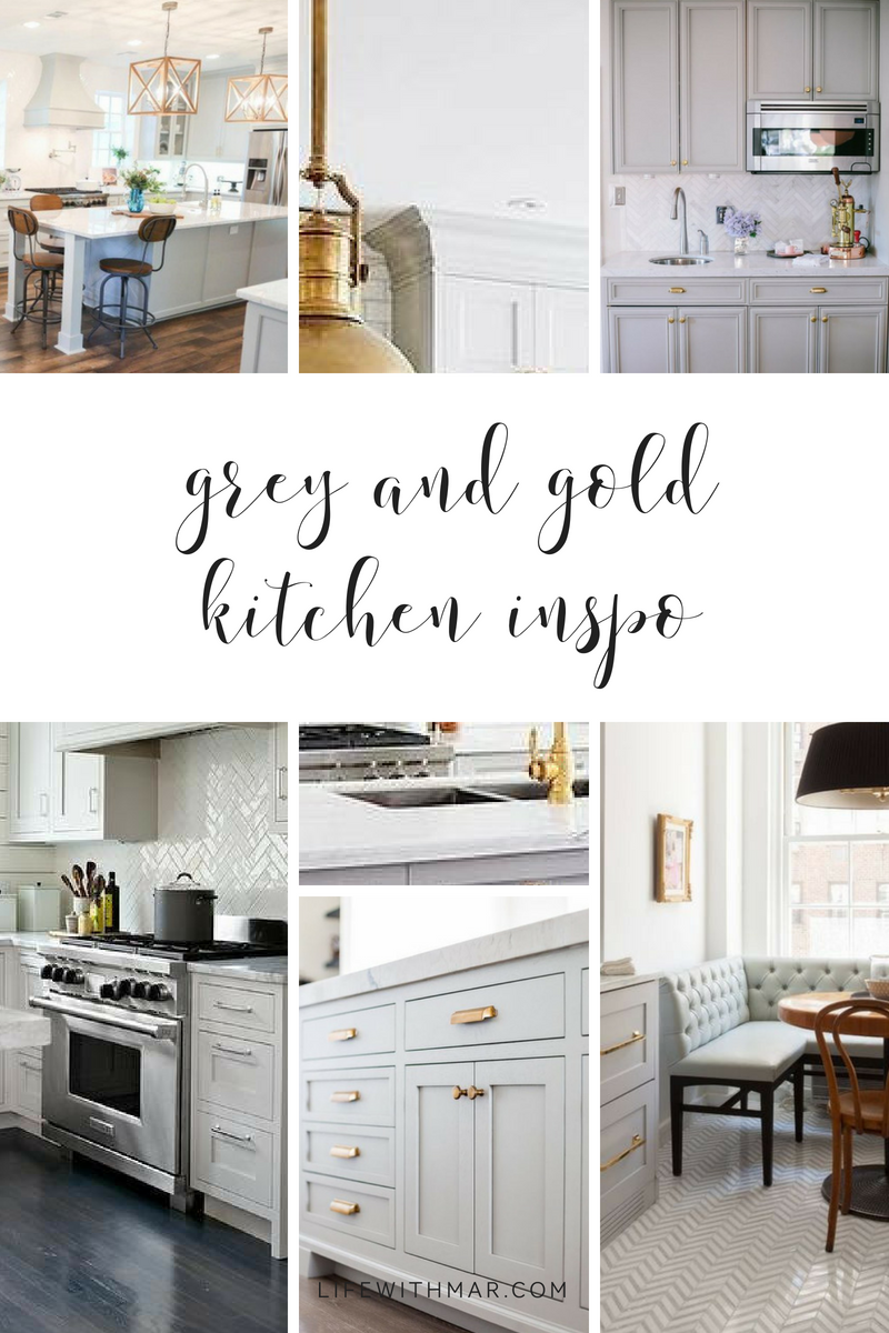 Zonaave Project Grey And Gold Kitchen Inspo Life With Mar Gold Kitchen Kitchen Inspirations Kitchens To Go