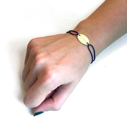 $138.59 Allumer Identity Bracelet With Engraving   Shop here: http://www.trendcy.com/brands/ALLUMER%2C-United-Kingdom.html