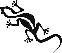 Large Lizard Stencil Reusable Lizard Stencil Lizard Stencil Art Stencil- Painting Stencil