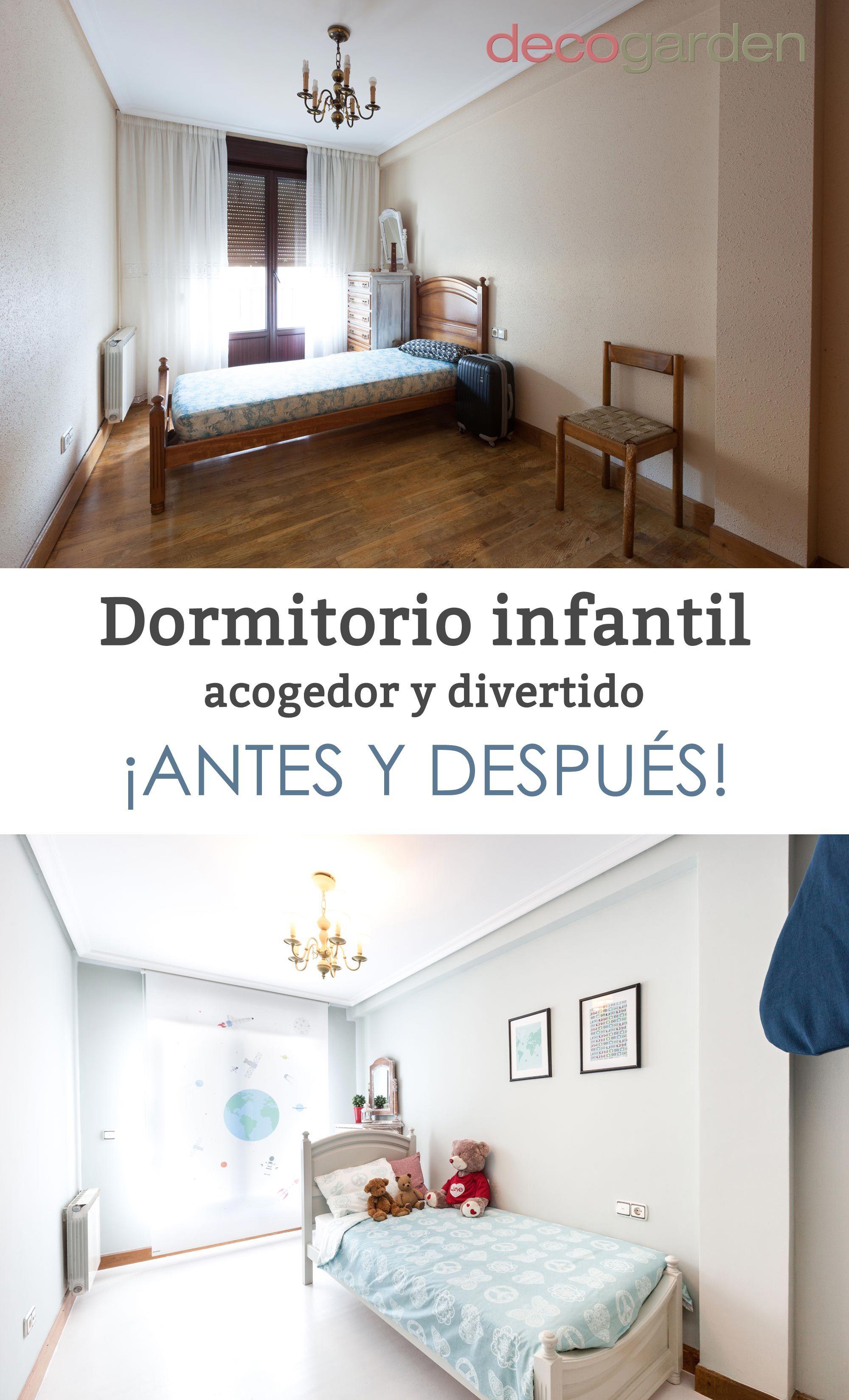 Decorar Dormitorio Infantil Acogedor Y Divertido #decoración #decogarden  #decoration #infantil #dormitorio