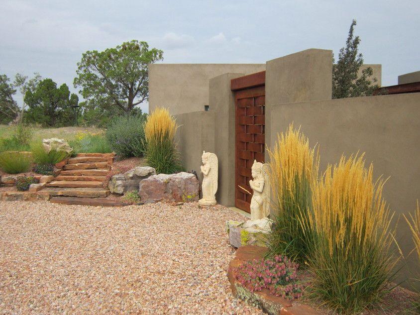 Santa Fe Garden Design Low Voltage Nightlights Add Interest And Security To Your