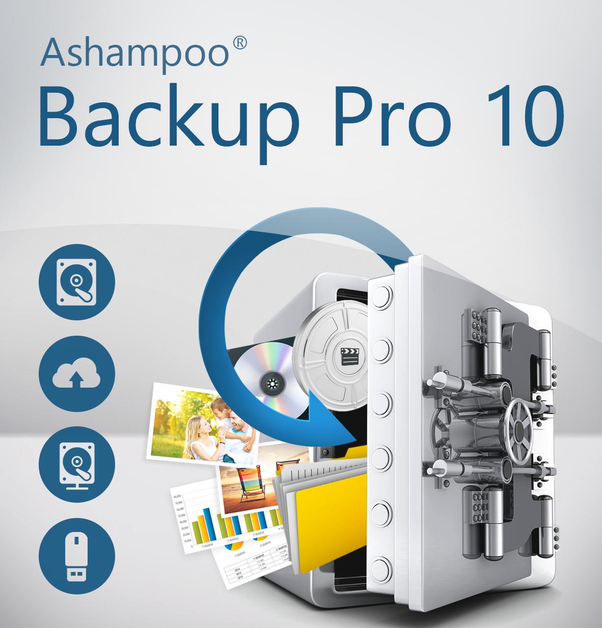 Ashampoo Backup Pro 10 (PC) HTC Vive Support Oculus Rift