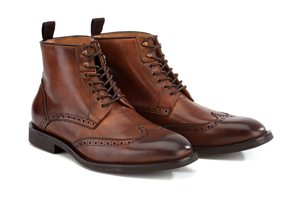 Bexley | Charing Gomme City Boots | Patina Chestnut $150