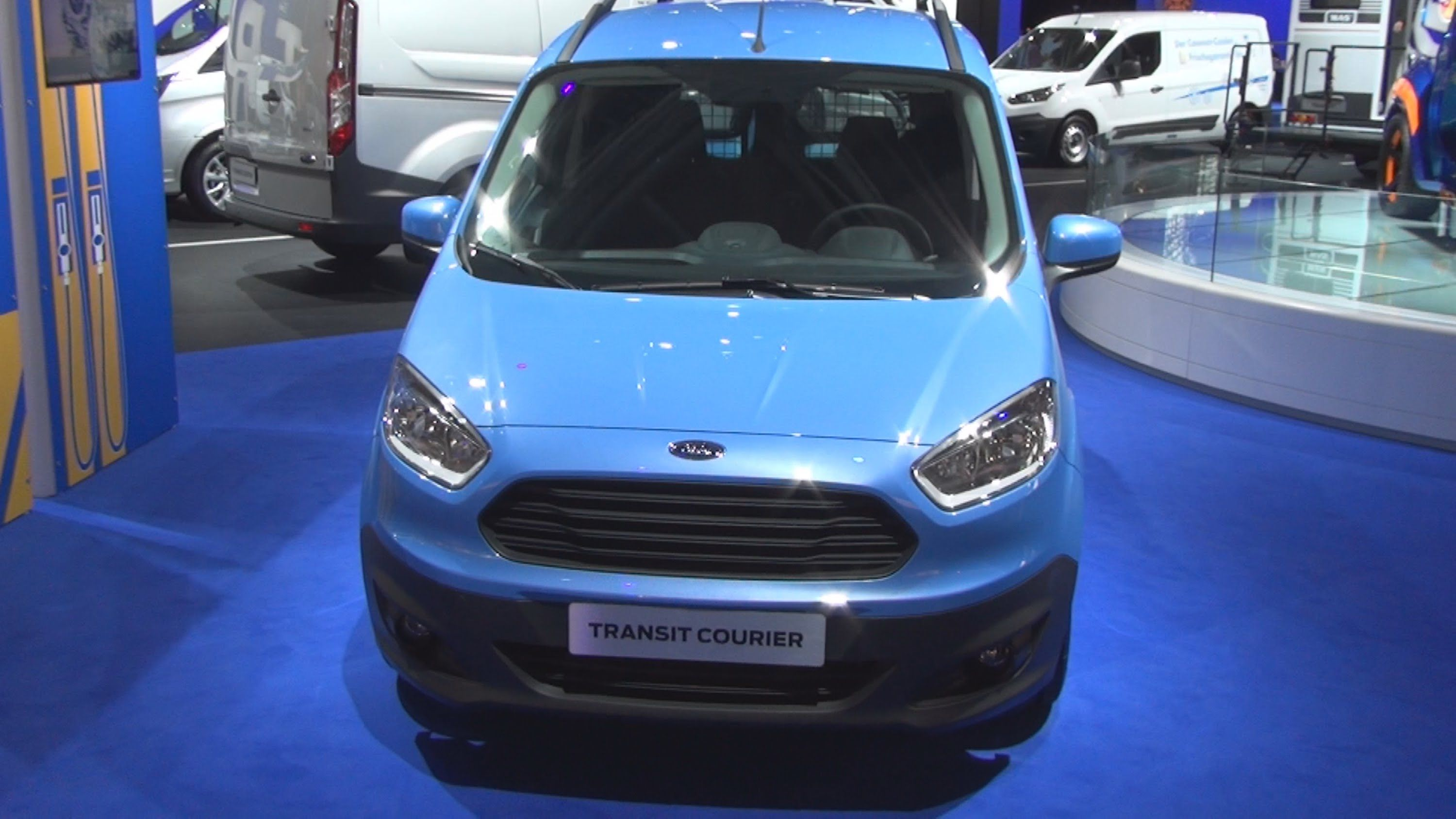 Ford Transit Courier Panel Van 1 6l Tdci Ford Transit