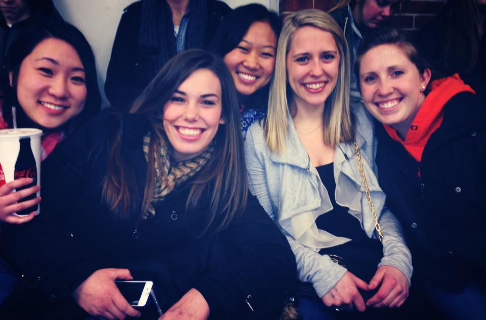 Pi Phis go to hockey games together #14s