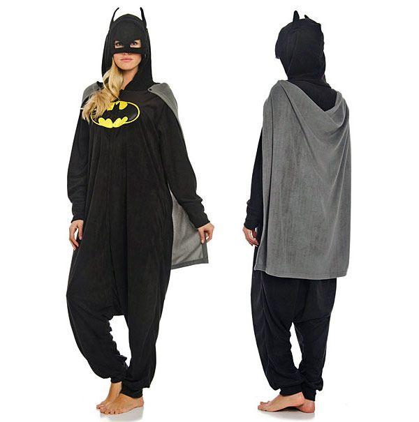 a49c9c1aaacd5 Batman Kigurumi Pajamas so want!!! ♡♥♡♥