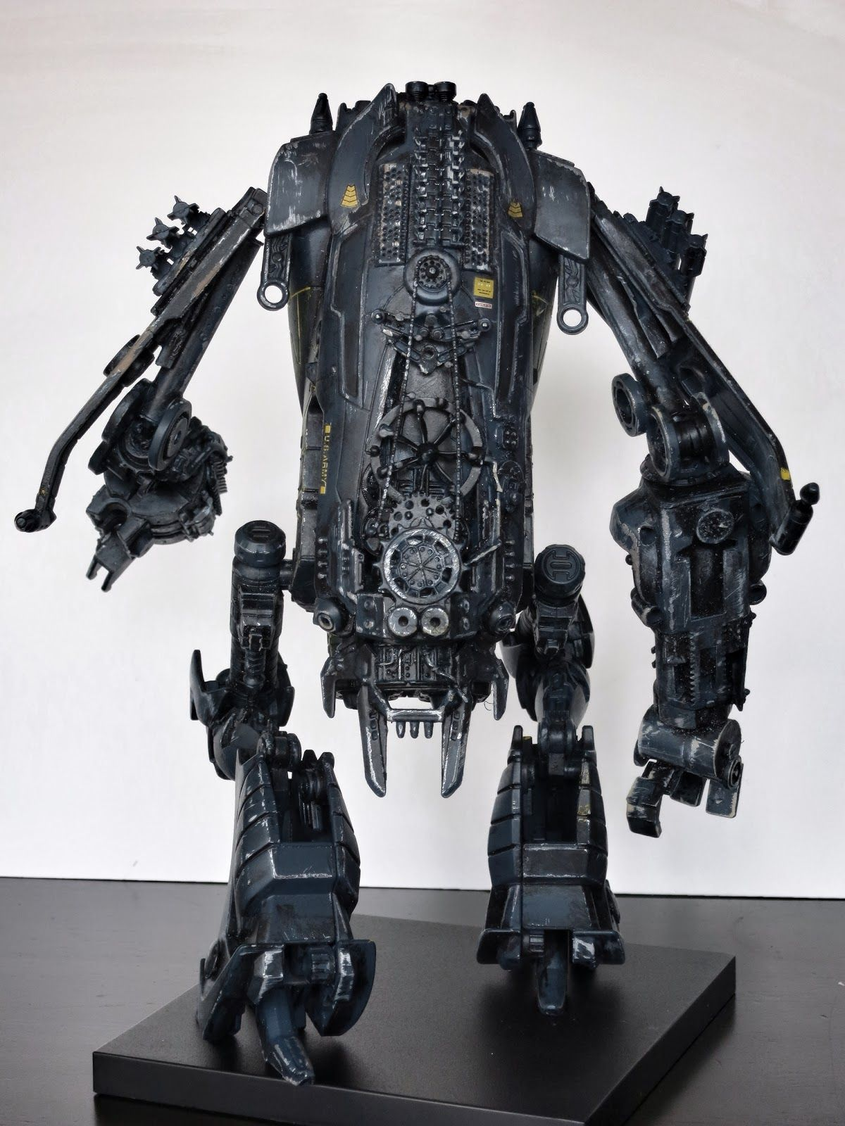 Nuthin' But Mech: Our second batch of Kitbash Mechs