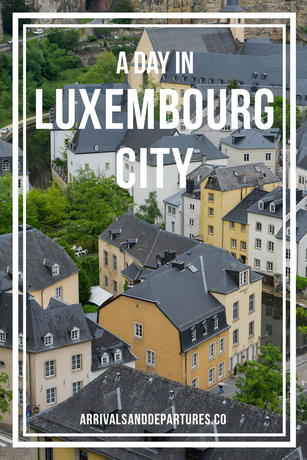A Day In The Capital of Luxembourg