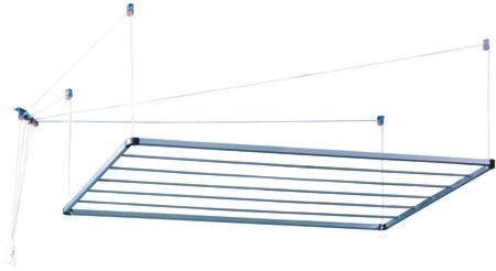 Tendedero techo aluminio 140 tendederos de ropa en for Tendedero jardin