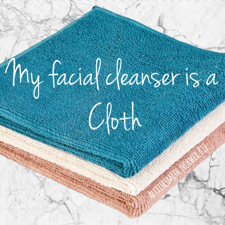 Yes you read that correctly!!! ☺️ My facial cleanser is a
