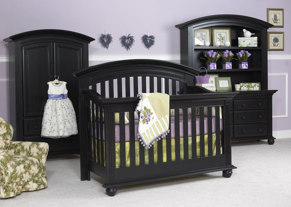 Echelon Cambridge Collection Shown In Antique Black 100 Solid Wood Made America All Nursery Furniture Is Available At Great Beginnings