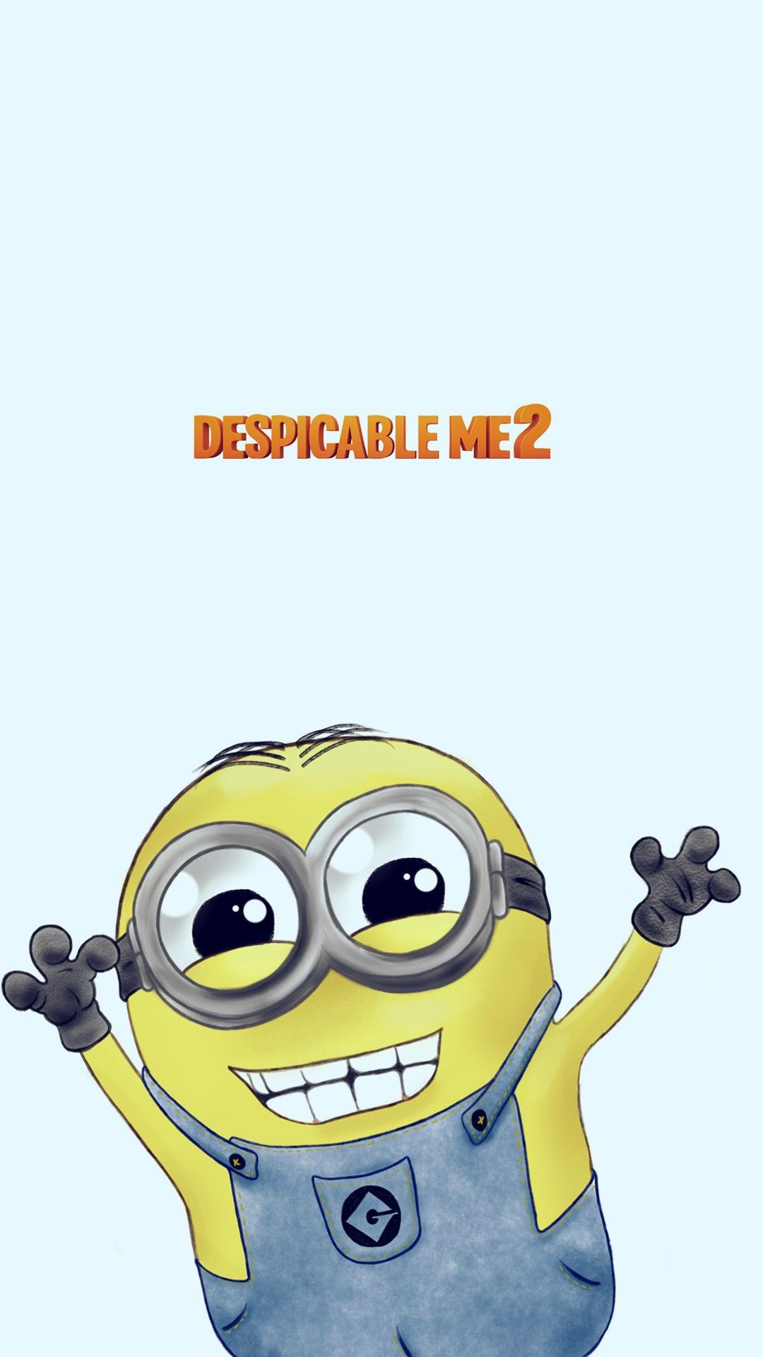 Despicable Me cartoon minion iphone 6 plus wallpaper HD for 2014 Halloween #i...