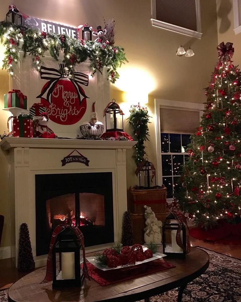 58 Unique Stunning Christmas Home Decoration Ideas For Adding Pep