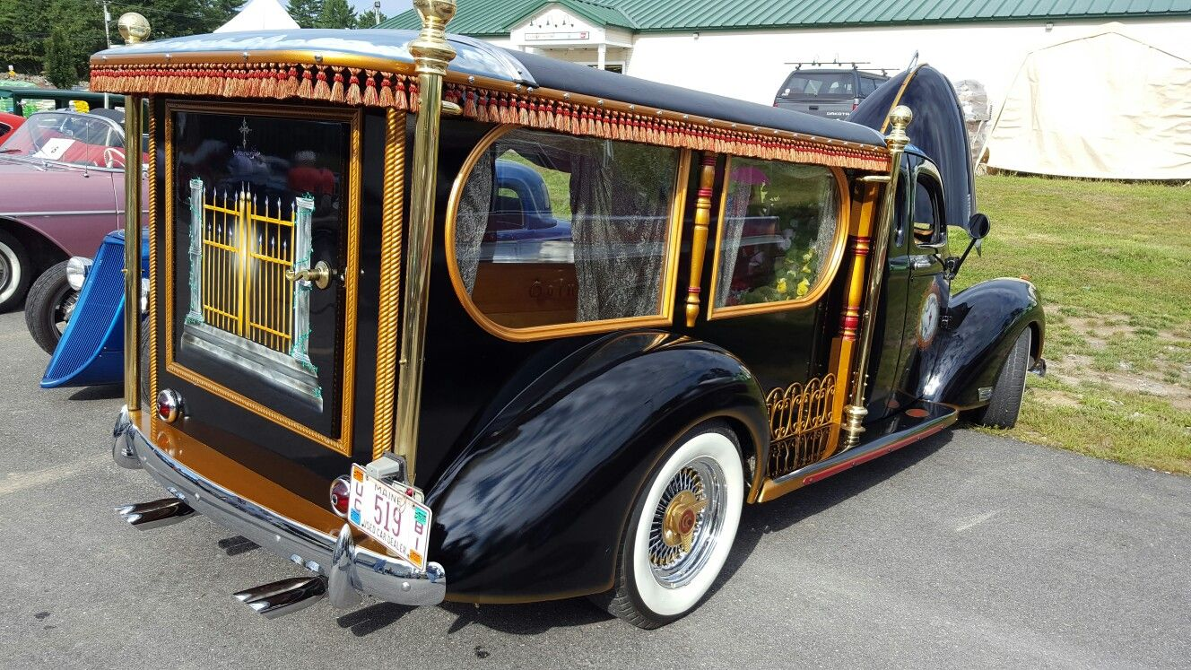 Cool Old He At A Car Show In Naples Maine 2016 There S Coffin The Back And Stiff Fellow Penger Seat Reading