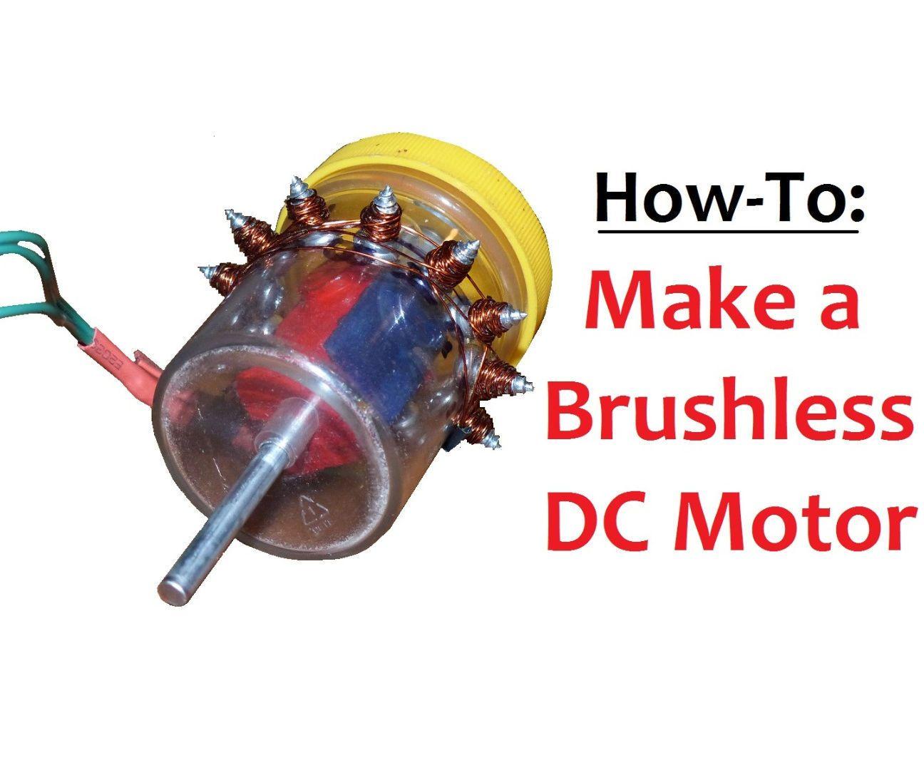 Make A Brushless Dc Motor Radio Control Diy Motor Quadcopter Diy